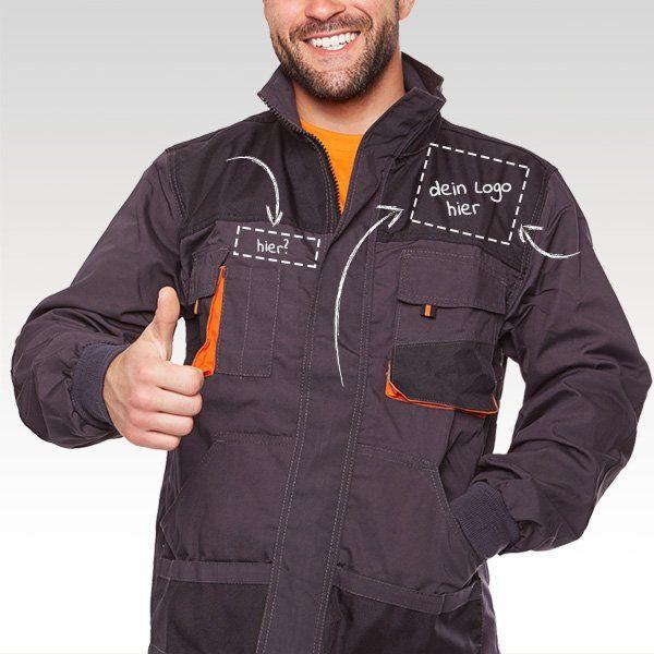 Arbeitskleidung mit eigenem Logo bedrucken oder besticken lassen
